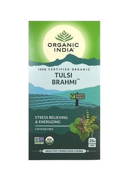Herbata Tulsi Brahmi w torebkach, Organic India