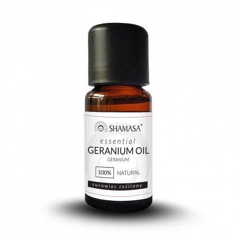 Geranium esencja 100% - olejek eteryczny 15 ml, Shamasa