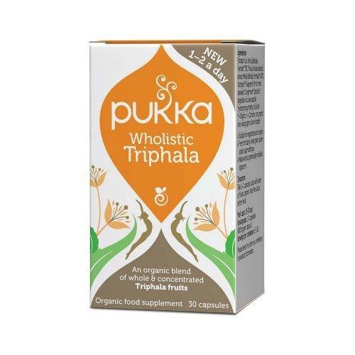 Wholistic Triphala - Pukka, kapsułki