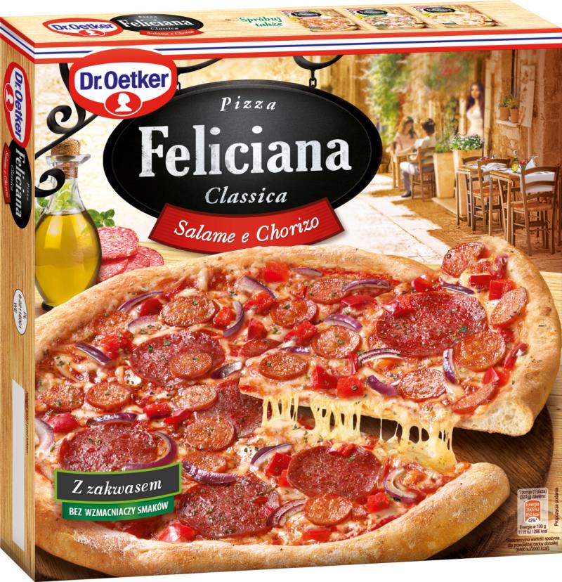 [Dr. Oetker] Pizza Feliciana SALAMI & CHORIZO 320g/5szt
