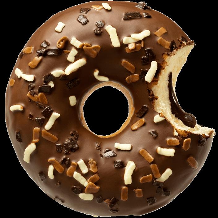 [La Lorraine] HOLY CHOC donut z nadzieniem czekoladowym 71g/12 szt