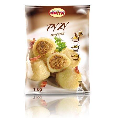 [ANITA] Pyzy z mięsem 1kg/12szt