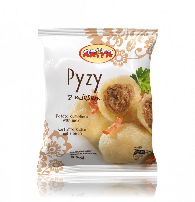 [ANITA] Pyzy z mięsem 3kg/4