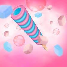 [Koral] Roller o smaku gumy balonowej 95ml/32szt