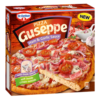 [DR.OETKER] PIZZA GUSEPPE HAM & GARLIC SAUCE 440G/5szt.