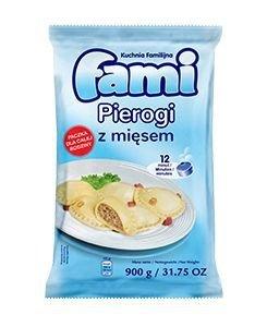 [FAMI] Pierogi z mięsem 900g po 6szt.
