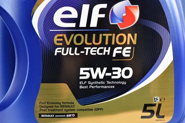 ELF EVOLUTION FULL-TECH FE 5W30 5L DO FAP DPF