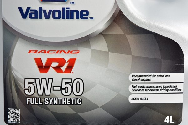 VALVOLINE VR1 RACING 5W50 5L
