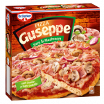 4007 Guseppe Pizza z Szynką i Pieczarkami 425g 1x5