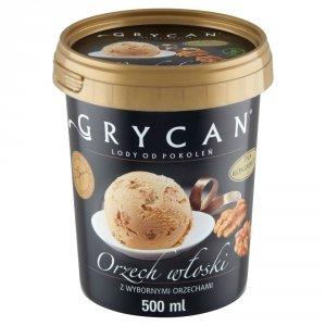 9218 Lody GRYCAN Orzech wloski PREMIUM 500 ml 1x6