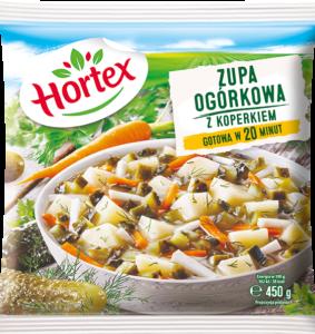 1118 Hortex Zupa ogórkowa 450g 1x14