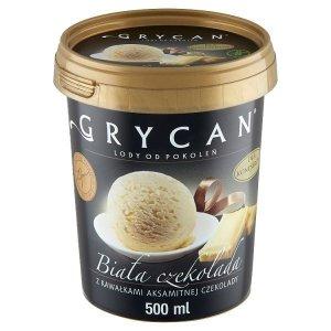 9221 Lody GRYCAN biała czekolada 500ml 1x6