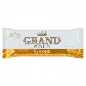 9141 Lody KORAL GRAND GOLD Almond wanilia z migdałami 120ml 1x20