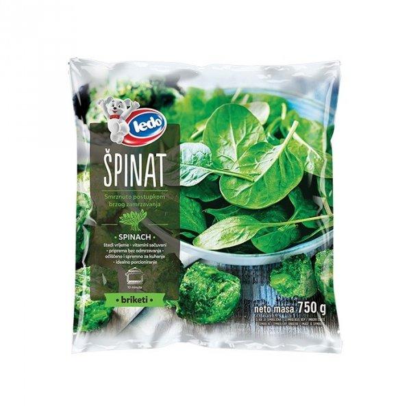 30022 CHO Spinach fine chopped 750g 1x8