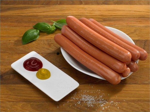 Parówka do  hot dogów Sokołów 80 x 70g