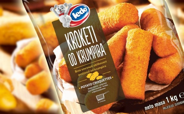 30004 CHO Potato Croquetts 1000g 1x10