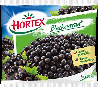 Hortex Czarna porzeczka 300g 1x16