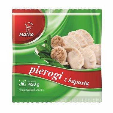 7008 Mateo Pierogi z Kapustą  450g (1x12)