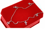 CELEBRITY SILVER NECKLACE STAINLESS STEEL