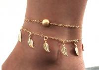gold bracelet for a leg