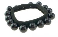 hair elastic pearls