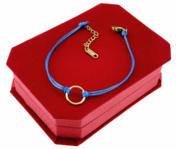 GOLD BRACELET STAINLESS STEEL STRING