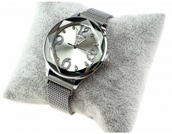 exclusive silver watch