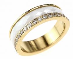 1328i pierścionek 20,00mm porcelana stal chirurgiczna