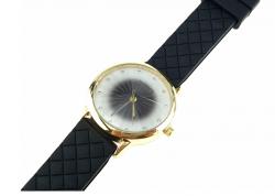 205 Damski zegarek złoty gumowy KURREN