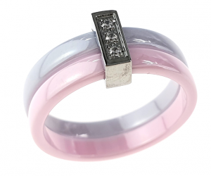 ring. 20,60mm porcelain. Stainless steel