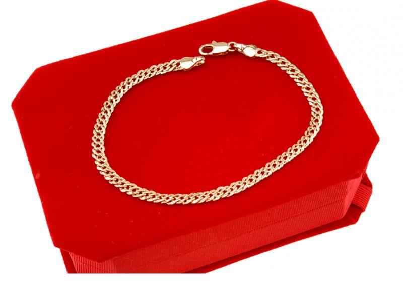 2389 Bransoletka złota pozłacana 18k Xuping