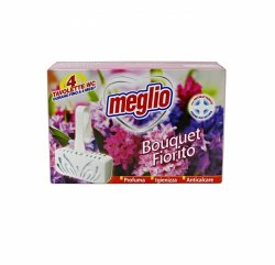 Meglio WC Deo Bouquet zawieszka do WC 4x30 g