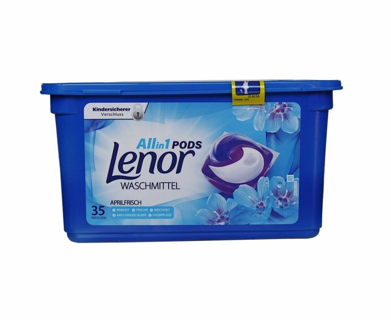 Lenor All in1 Aprilfrisch kapsułki do prania 35 szt.