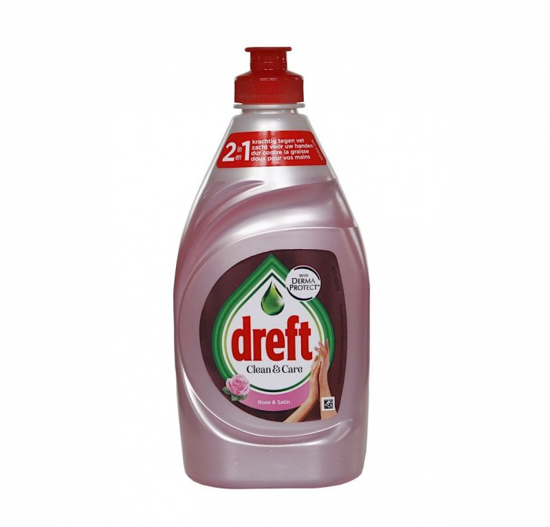 Dreft Rose&Satin płyn koncentrat do mycia naczyń 383 ml