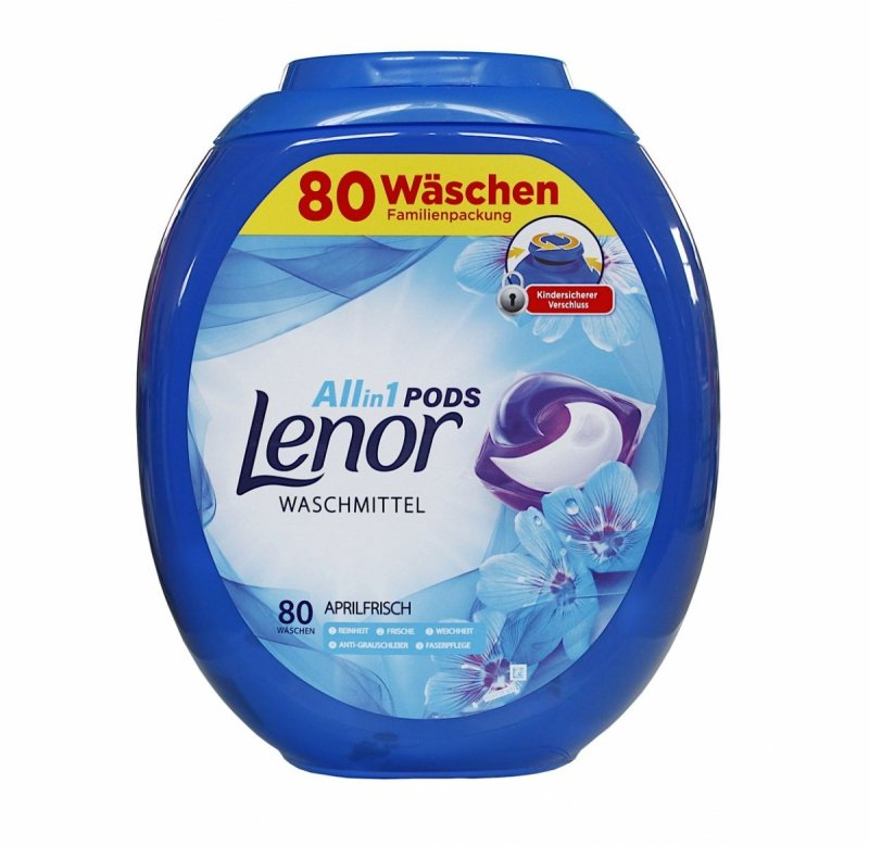 Lenor All in1 Aprilfrisch kapsułki do prania 80 szt.