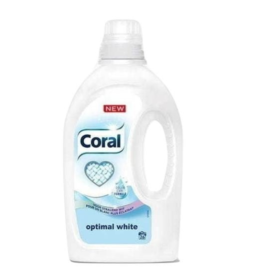 Coral Optimal White żel 26 prań 1,25 l