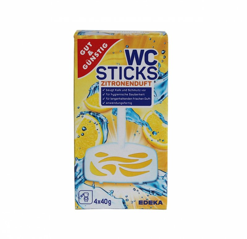 G&G WC Sticks zawieszki do WC Lemon 4 szt