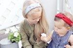 Opaska dla dziewczynki Plecionka