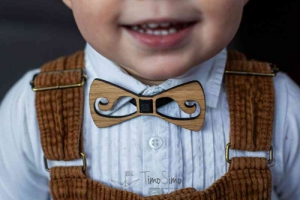 Muszki i krawaty dla chłopców