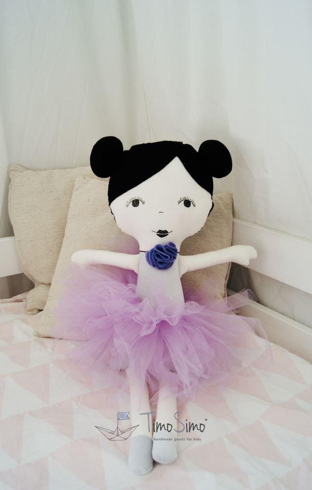 Lalka ręcznie robiona Laura XL