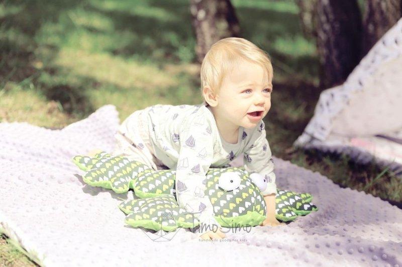 Poduszka sensoryczna dla dzieci Żaba Gabriela