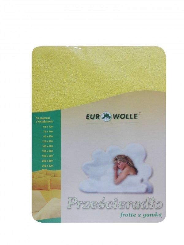 Miękkie_ przyjemne w dotyku_prześcieradło frotte z gumką Eurowolle_kolorowe prześcieradło polskiego producenta_ prześcieradło oddychające z dzianiny frotte_01