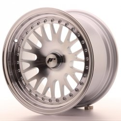 Japan Racing JR10 15x8 ET20 Blank Machined Sil