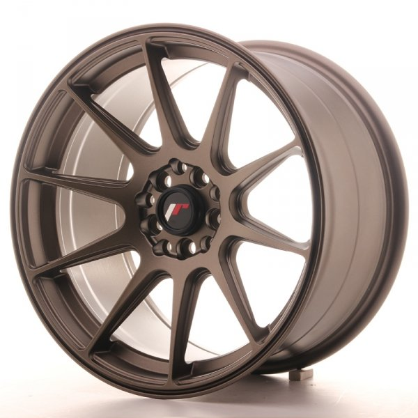 Japan Racing JR11 17x9 ET35 5x100/114 Matt Bronze
