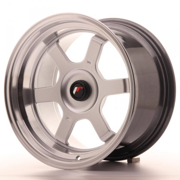 Japan Racing JR12 16x9 ET20 Blank Hyper Silver