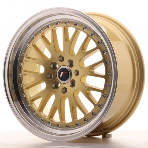 Japan Racing JR10 17x8 ET35 4x100/114 Gold