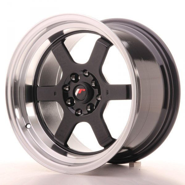 Japan Racing JR12 16x9 ET10 4x100/114 Gloss Black