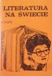 Literatura na świecie 8/1984 • Abe Kobo