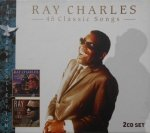 Ray Charles • 45 Classic Songs • 2CD