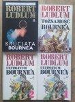 Robert Ludlum • Tożsamość, Krucjata i Ultimatum Bourne'a [komplet]